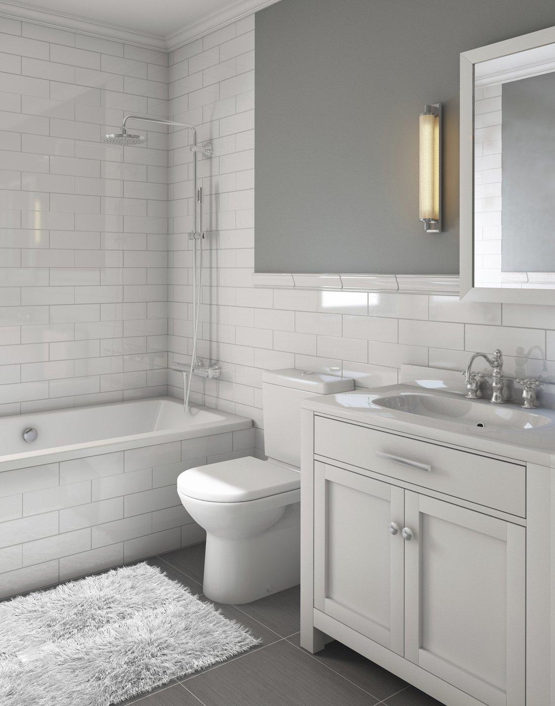 Newely remodeled bathroom